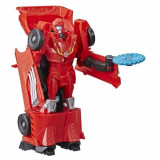 Figurina Transformers Cyberverse 1-Step Hot Rod, Colectia Action Attackers