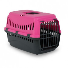 Cusca transport animale , Gipsy S , Plasitic 46X31X32 Pink Phanter Usa Metal Pet Star