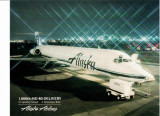 SUA - ALASKA AIRLINES. AVIOANE DE PASAGERI. PLIANT FORMAT MARE, N23