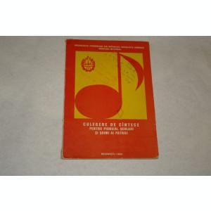 Culegere de cantece pentru pionieri scolari si soimi ai patriei - 1984