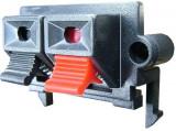 Conector boxe 2 pini, montare pe panou - 123652