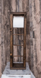 Suport pentru role de hartie igienica, Budapesta, 15.5x52.5x14 cm, palisandru