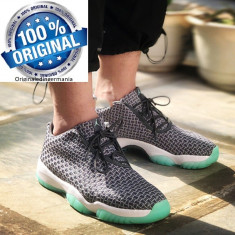 Ghete  Originale  100%  NIKE Jordan AIR JORDAN FUTURE LOW  GRY/EMERALD nr 38