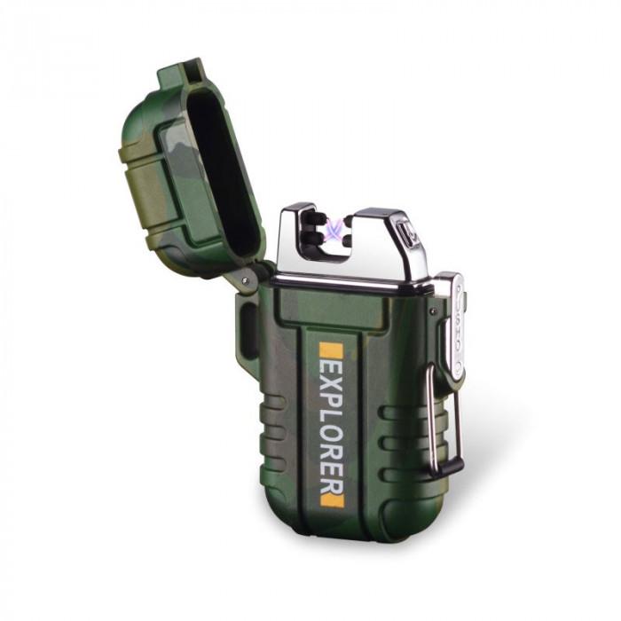 Bricheta MBrands Explorer electronica Rezistenta la apa DUBLU ARC incarcare USB