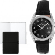 Set CEAS ELECTION CLASSIC BLACK ROMAN NUMERALS si Note Pad Black HUGO BOSS