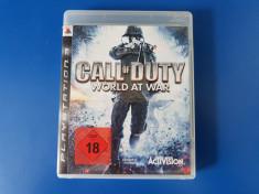 Call of Duty World at War - joc PS3 (Playstation 3) foto