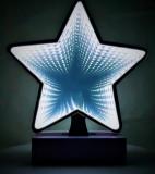 Decoratiune Luminoasa cu Baterii/USB Neon Model Stea 20 cm Alb Rece