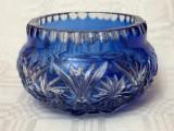 Cumpara ieftin Impresionant vas din cristal gravat cu modele simetrice