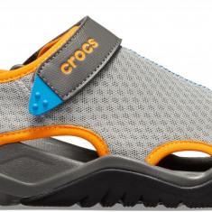 Sandale Bărbați pe apă Crocs Swiftwater Mesh Deck Sandal