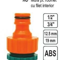 """Mufa pentru robinet cu filet interior 1/2""""-3/4"""", Flo 89241"""
