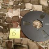 6. Banda Magnetofon REVOX rola metalica 26cm-Black (Akai,Teac,Tascam,Agfa,BASF)