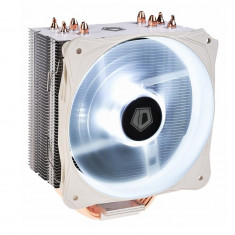 Cooler CPU ID-Cooling SE-214L Snow V2, Iluminare alba, Ventilator 130mm, 4x...