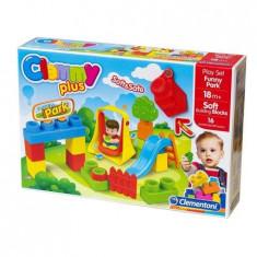 Set de constructie cuburi moi pentru copii clemmy - Parc de distractii