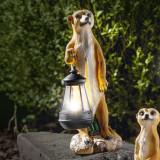 Cumpara ieftin Decoratiune solara I-Glow mangusta cu felinar