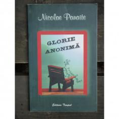 GLORIE ANONIMA - NICOLAE PANAITE