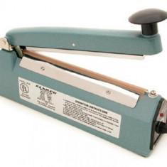 Masina, dispozitiv pentru lipit si sigilat pungi si folii de plastic FS400