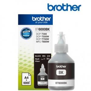 Cerneala originala Brother BT6000BK Black