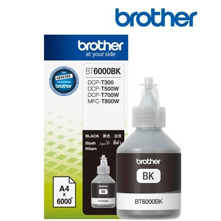 Cerneala originala Brother BT6000BK Black