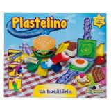 Plastelino - La Bucatarie, 4 culori de Plastilina