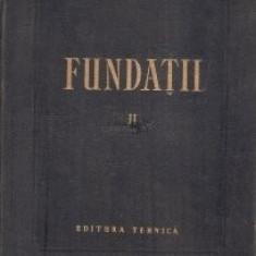 Hugo Lehr - Fundații ( Vol. II - Procedee de execuție )