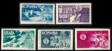 1946 LP181a serie Asociatia Generala a Inginerilor din Romania MNH, Meserii, Nestampilat