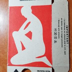 ambalaj ciorapi pantalon  - adesgo din perioada comunista