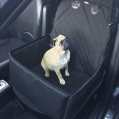 Husa auto protectie caini si pisici husa protectie scaun fata 2 in 1