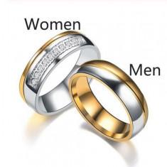Inele de logodna ,verighete asortate ,inele cuplu set 2 buc la 100lei