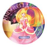 Farfurii petrecere copii 18 cm Cenusareasa, Radar 61288, Set 10 buc