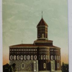 EXPOZITIA NATIONALA 1906 , BUCURESTI , BISERICA CUTITU DE ARGINT , CARTE POSTALA ILUSTRATA , NECIRCULATA