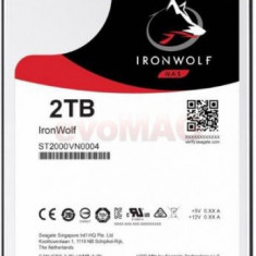 HDD Desktop Seagate IronWolf, 2TB, SATA III 600, 64 MB Buffer