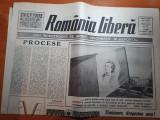 Ziarul romania libera 16 martie 1990-art. teroristii in proces
