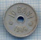 AX 708 MONEDA- ROMANIA - 10 BANI -ANUL 1906 -STAREA CARE SE VEDE