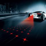 Lumina de ceata pentru spate auto, proiectie laser rosu 20 mw