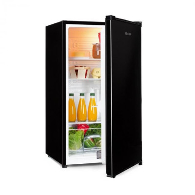 Klarstein Hudson, frigider, A ++, 88 de litri, sertar vegetal, compresie, negru foto