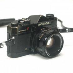 Konica Autoreflex T - cu obiectiv Konica Hexanon 52mm f1.8