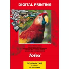 Folie autoadeziva opaca format A3, printabila laser, 50 microni