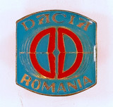 DACIA - ROMANIA Insigna email rece