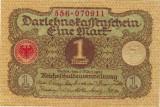 Germania bancnota 1 marca 1920 UNC