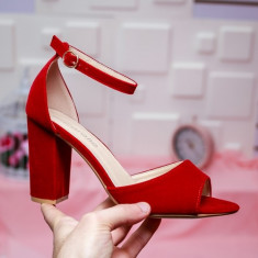 Sandale Varanasi rosii -rl