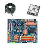 Kit Placa de Baza Refurbished GIGABYTE GA-X48-DS4, Core 2 Duo E8500, Cooler