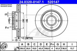 Disc frana FORD COURIER (J3, J5) (1996 - 2016) ATE 24.0320-0147.1
