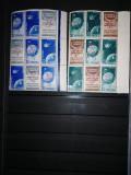 Timbre romania 1958. Satelitii artificiali cu supratipar rasturnat MNH, Nestampilat