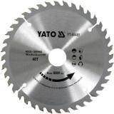 Disc circular lemn 190 x 30 x 3.2 mm 40 dinti Yato YT-60489