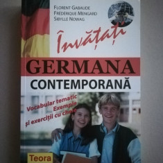 Invatati germana contemporana