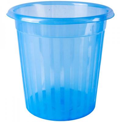 Cos de gunoi pentru birou, 8lt, albastru foto