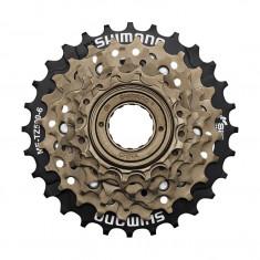 Bloc de pinioane pe filet Shimano Tourney Mf-Tz500-6 6 viteze 14-28T culoare marPB Cod:AMFTZ5006428