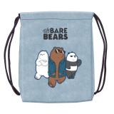 Sac sport We Bare Bears, 46x35,5 cm - STARPAK