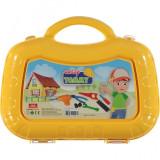 Set trusa unelte Ucar Toys UC133, 13 piese, galben