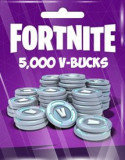 Fortnite 5000 V-Bucks Card pentru PC